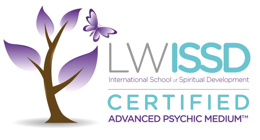 Jag är certifierad av Lisa Williams för psychic mediumship readings.